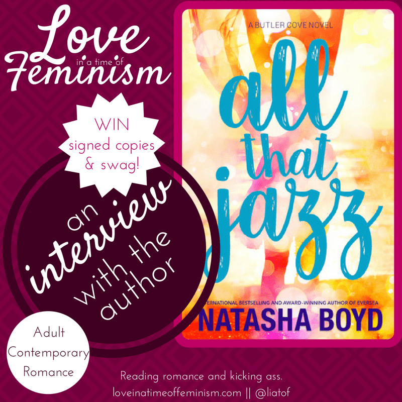 Interview & Giveaway: All That Jazz by Natasha Boyd
