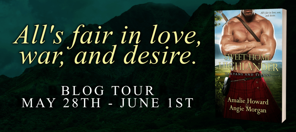 Review, Excerpt & Giveaway: Sweet Home Highlander by Amalie Howard & Angie Morgan