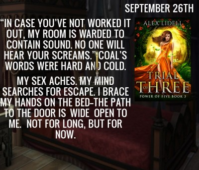 """""""In case you've not worked it out, my room is warded to contain sound. No one will hear your screams."""" Coal's words were hard and cold. My sex aches. My mind searches for escape. I brace my hands on the bed – the path to the door is wide open to me. Not for long, but for now."""