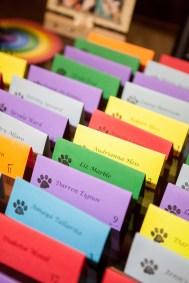 rainbow-themed-wedding-escort-cards