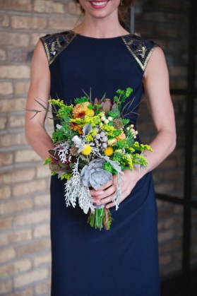 navy-blue-bridesmaid-dress-and-bouquet-roots-of-life-photography