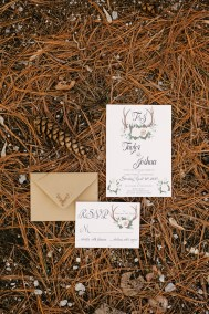 antler-wedding-invitation