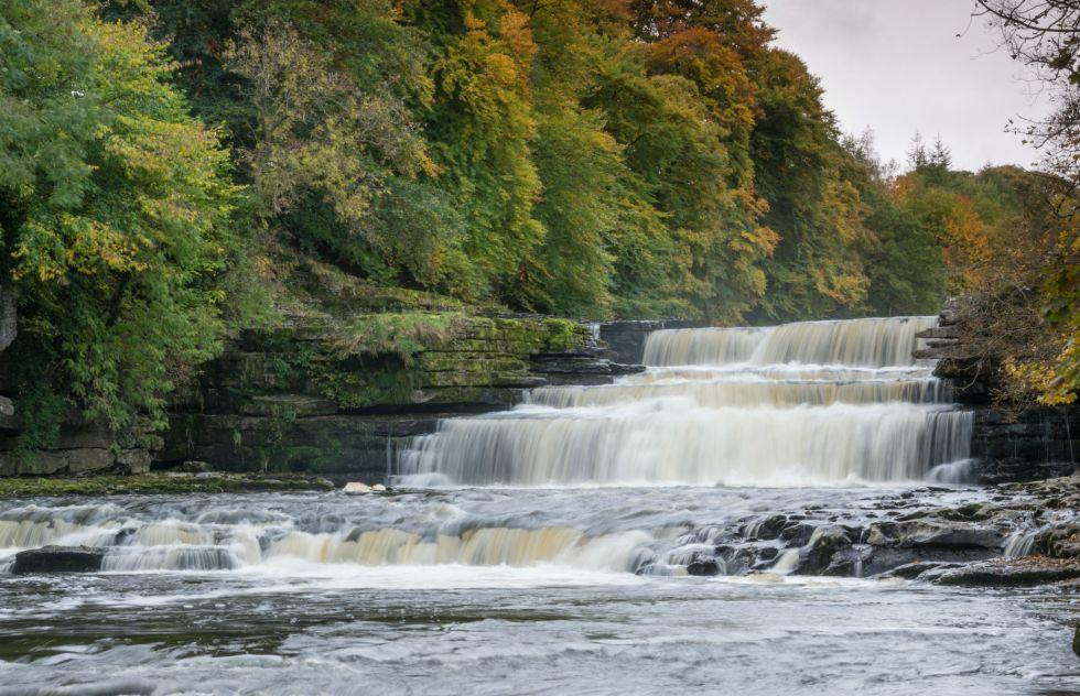 Aysgarth Falls (Image: Andrew Fletcher/Shutterstock)