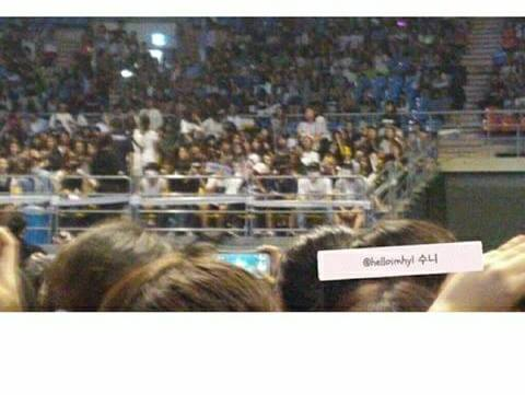 Rumored trainees spotted at Beast's Beautiful Show 2015