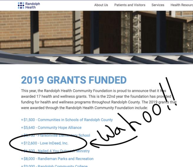 Grant receive