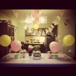 the simple birthday table