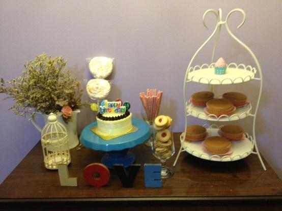 dessert table for my niece CK's 13th birthday