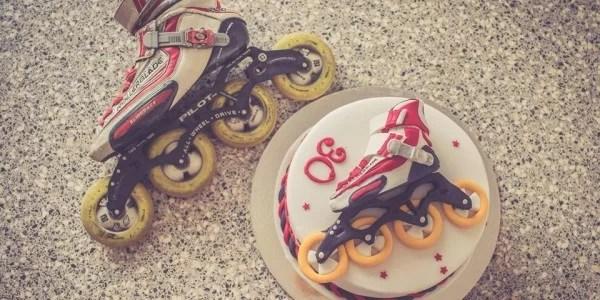 Parádna korčuliarska torta od Lovely Cakes