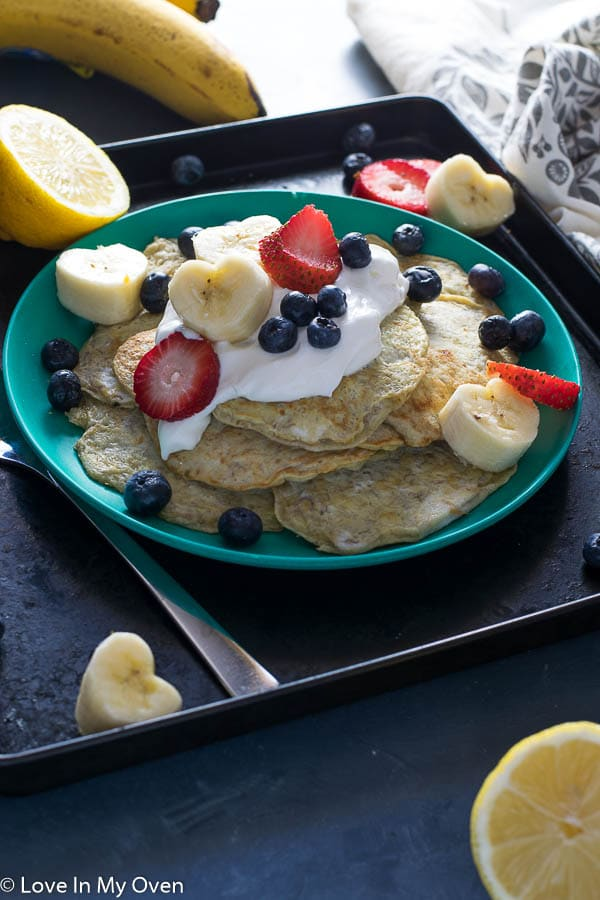 Baby-and-me Pancakes