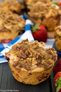 double streusel muffins