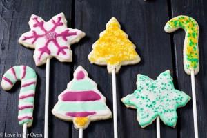 Vanilla Bean Cookie Pops