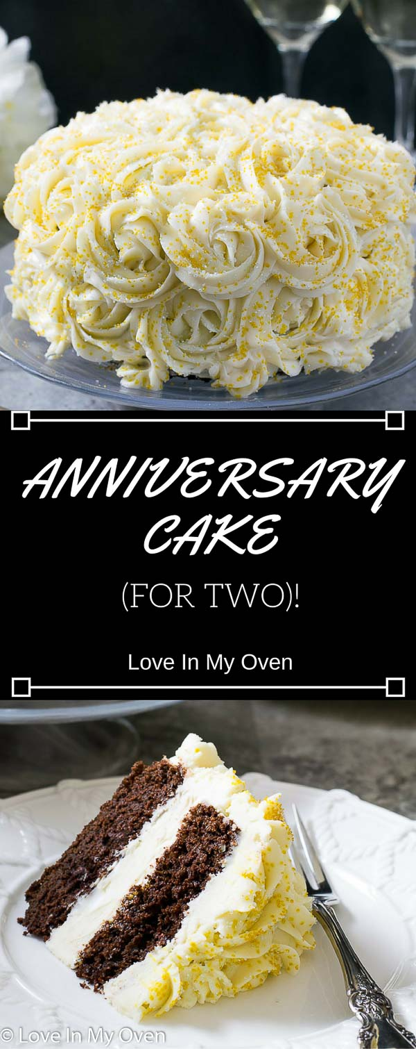 anniversary cake for two