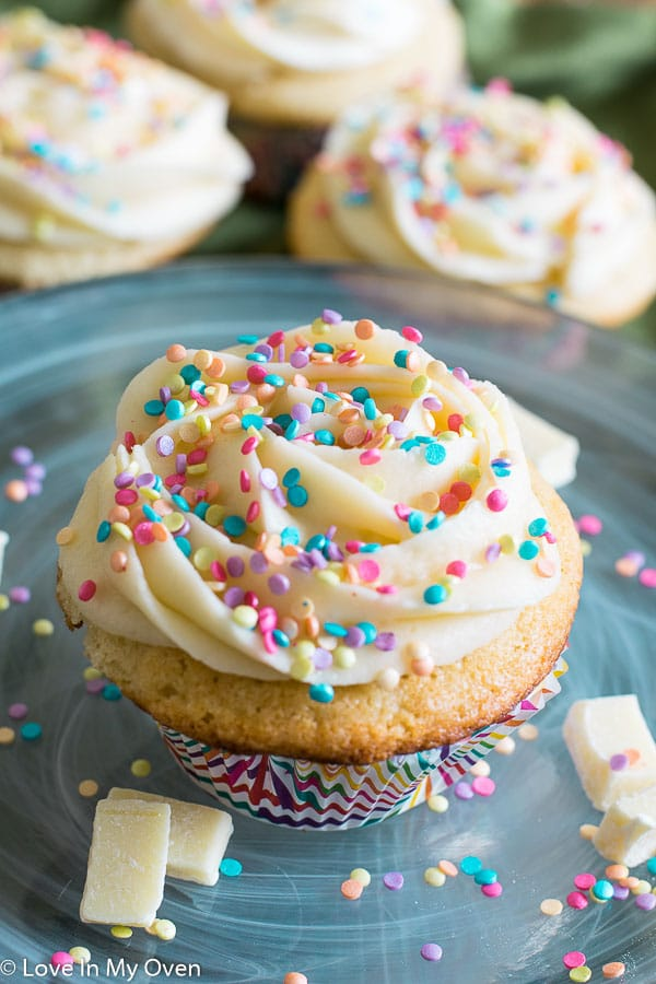 Gender Reveal Cupcakes Love In My Oven