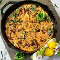 Keto Chorizo Frittata