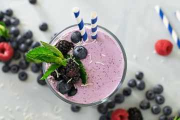 winter blues smoothie