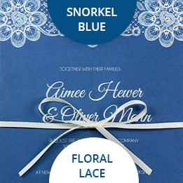 snorkel blue wedding colours