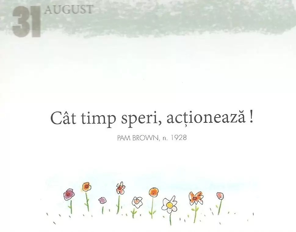 31 August