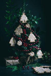 Vegan Christmas Tree Ornament Cookies Love Is In My Tummy