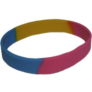 Pansexual Bracelet Silicone