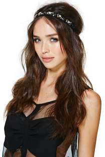 After Gossip Girl, I think it is safe to say that headbands are so in. This stoned headband is the perfect addition to spice up any outfit.