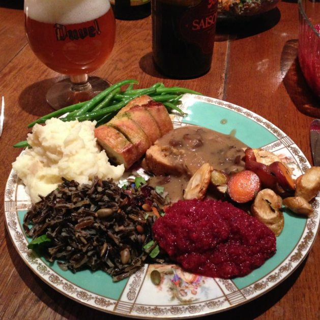 Divinely delicious vegetarian Thanksgiving - Love Jo
