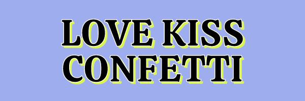 Love Kiss Confetti