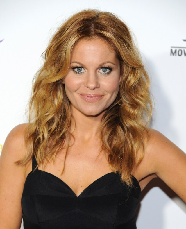 candace cameron bure cut her hair, so let's look back at the