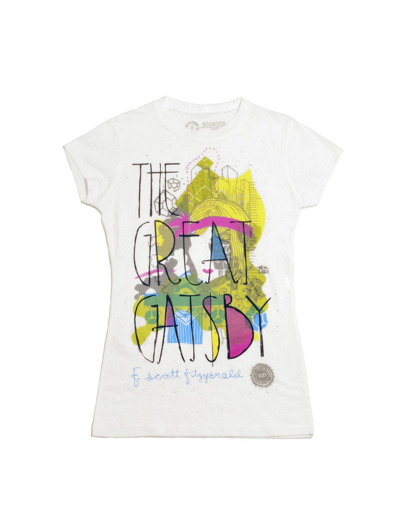Great Gatsby graphic tee