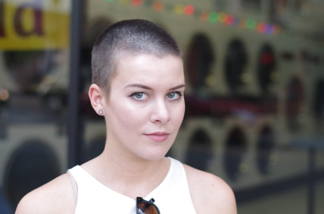 9 things girls with shaved heads are tired of hearing about