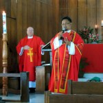 Episcopal Diocese of Southern Philippines With Fr. Francis at St. Francis Parish on Pentecost