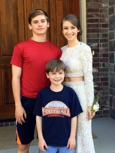 Danna, Riley, Braden