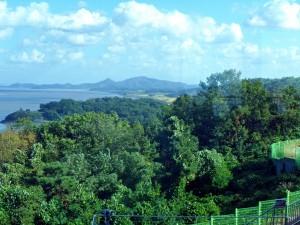 Ganghwa - looking over Han river to N. Korea