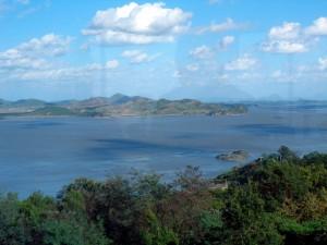 Ganghwa looking over Han river to N. Korea