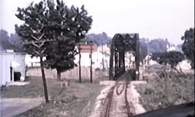 Ever wonder what it was like to ride a train on the bike trail?