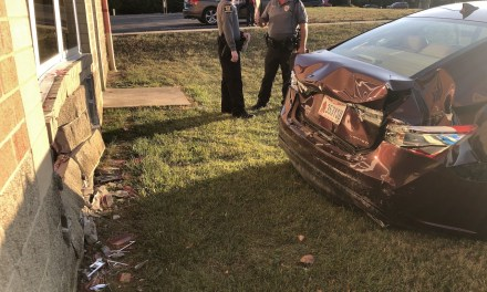 BREAKING: Woman crashes into back of Loveland High School