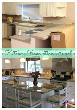 Updating a worn out kitchen into a modern useful space