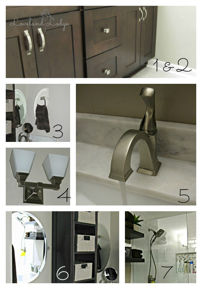 Master Bathroom Sources