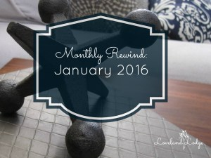 Monthly Rewind: January 2016