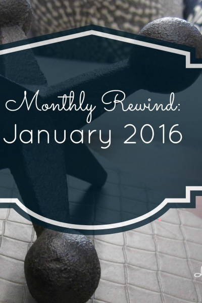 Monthly Rewind: January 2016