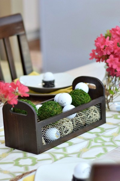 Spring Home Tour: Masters Tablescape