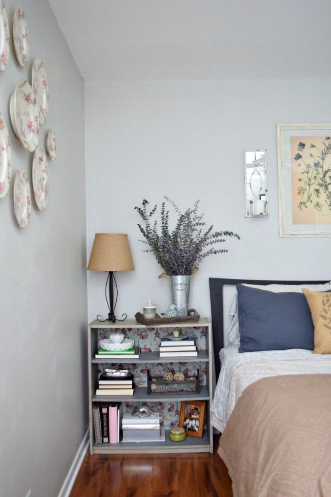 One Room Challenge shelf