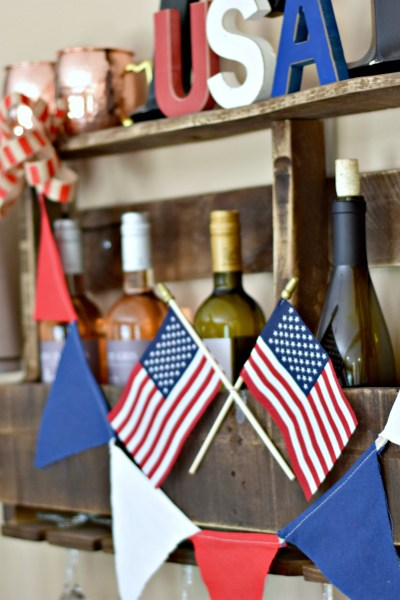 Celebrations: 4th of July Dining Room