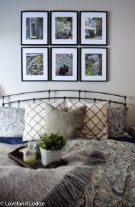 Master Bedroom Gallery Wall