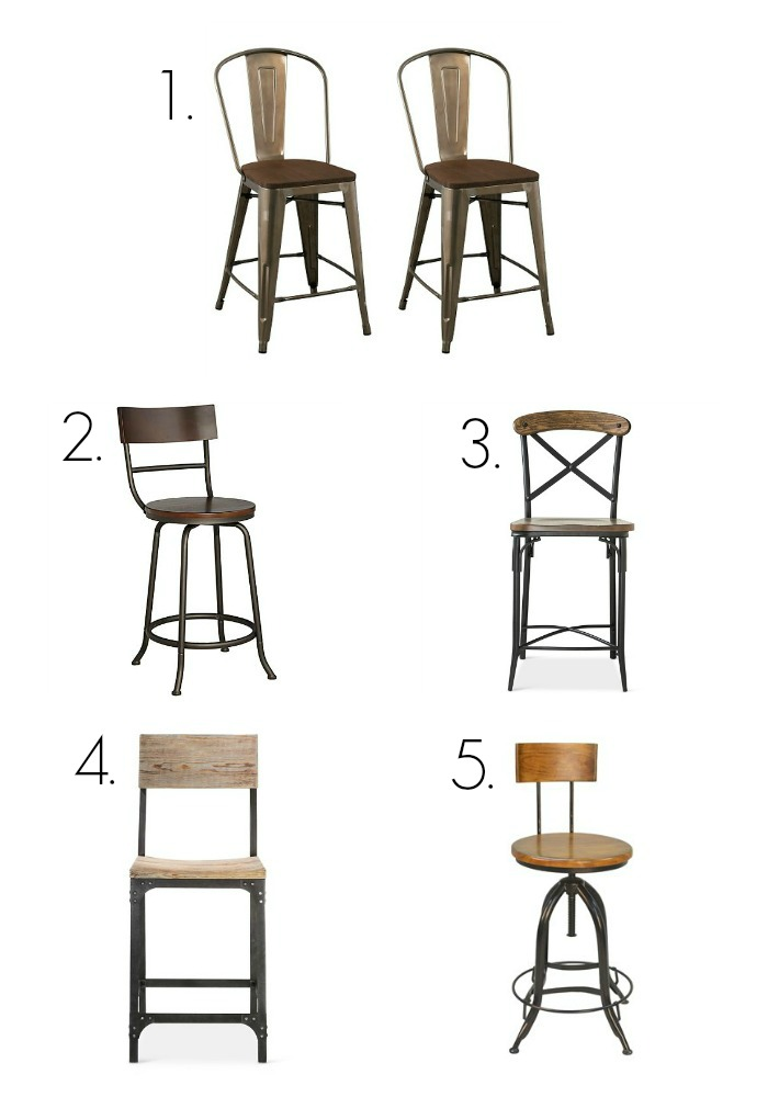 Modern Farmhouse Bar Stools Under 130 Loveland Lodge