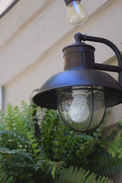 New Outdoor Lighting