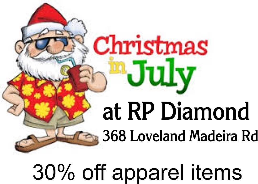 Christmas in July at RP Diamond Printing & Embroidery | Loveland ...