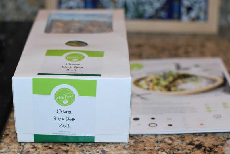 Hello Fresh! – Chinese Black Bean Saute