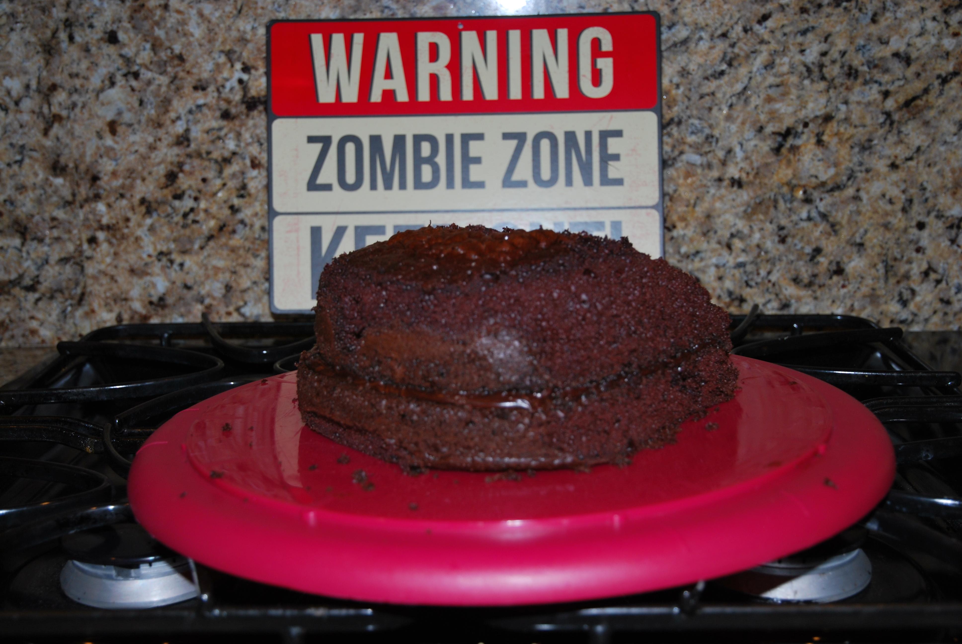 halloween cake - brain cake - lovelaughexplore.com