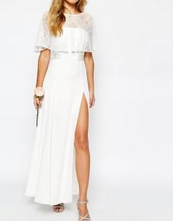 4. Bridal Lace Maxi