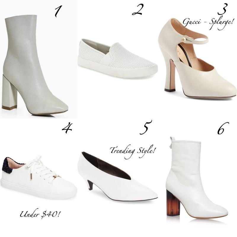 Sunday Styles – White Shoes